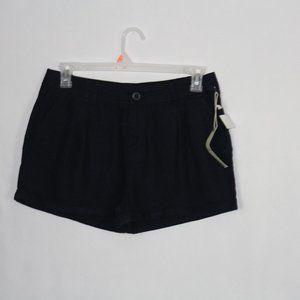 #0196    CI  Sono Navy Linen/Rayon Shorts